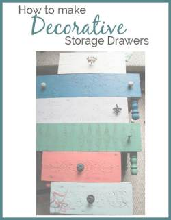 decorative storage drawers