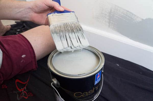 Painting the walls and trim-3-2