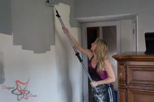 Painting the walls and trim-9