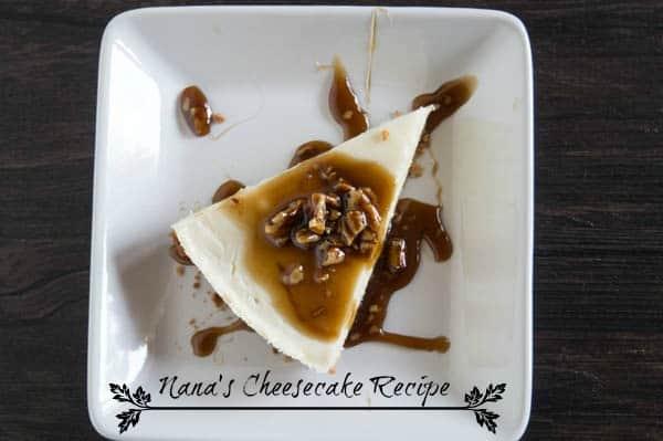 Nana's Cheesecake Recipe - Praline Topping