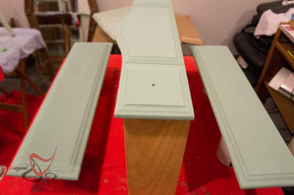 Repurposed Drawer Fronts - Royal Design Stencils- Paint Couture in Abundance
