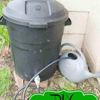DIY Rain Barrel ~Tutorial!