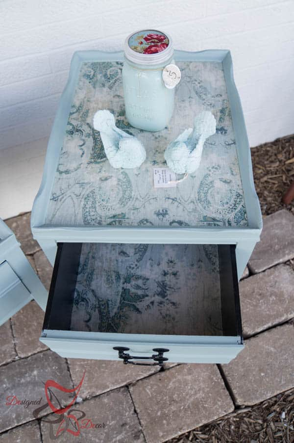 Fabric Accent Tables-