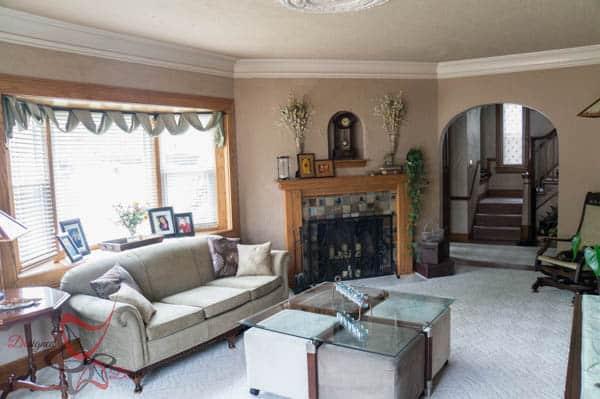 House Tour ~ Living Room- Mantel