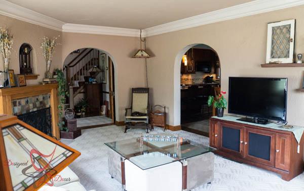 Summer House Tour ~ Living Room-