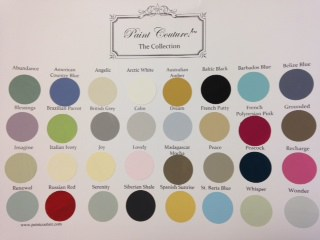 colors paints- The Couture Collection
