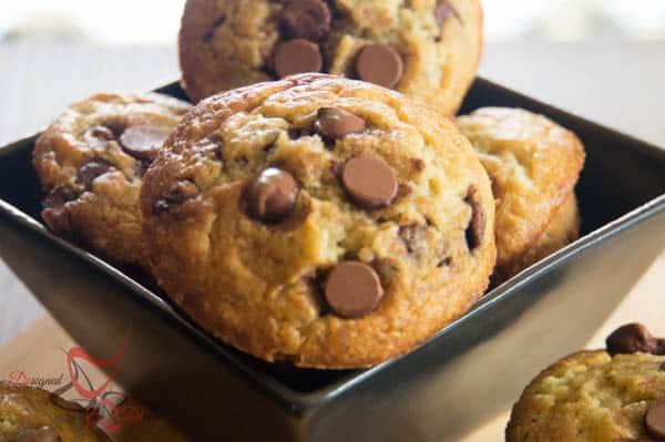 Zucchini Chocolate Chip Muffins-