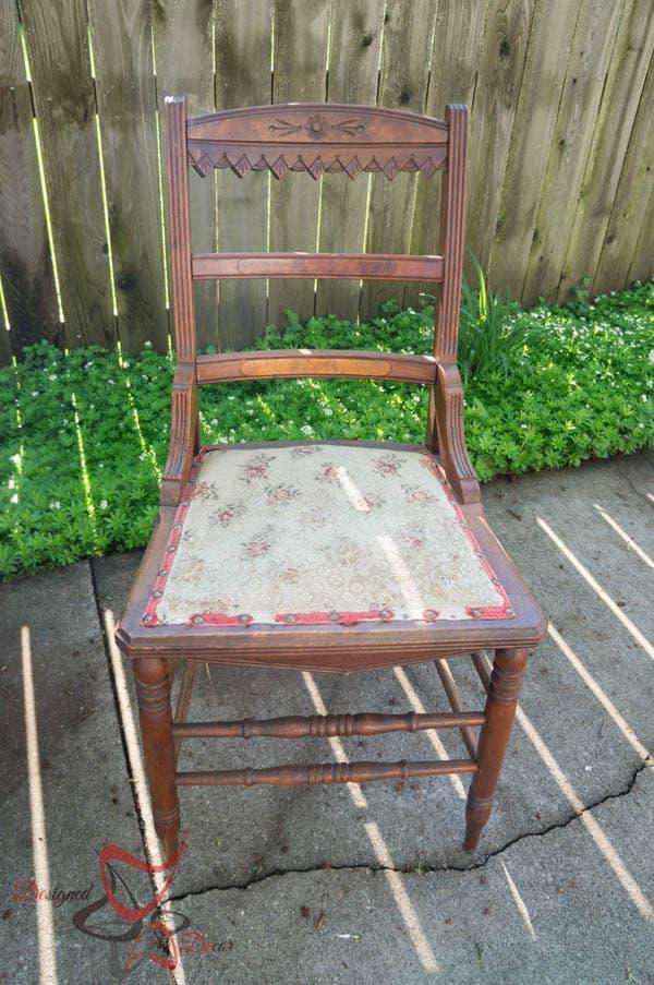 Antique Accent Chair