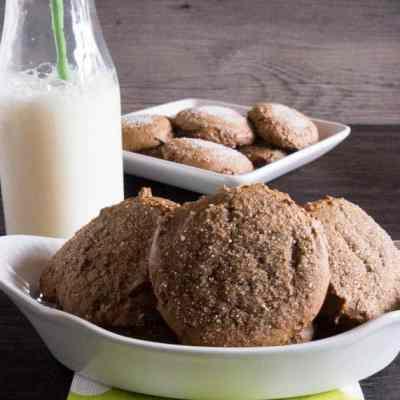 Pumpkin Molasses Cookies!