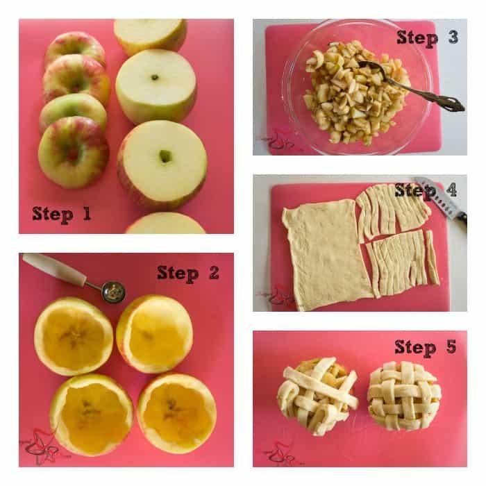 Apple Pie Apples ~5 steps