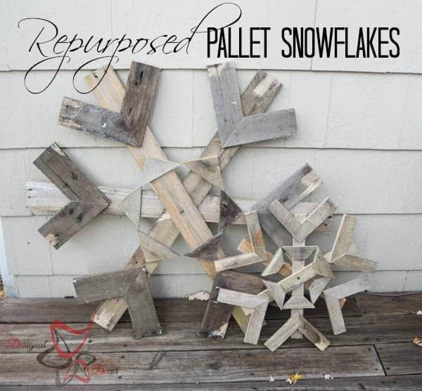 Pallet Snowflakes-