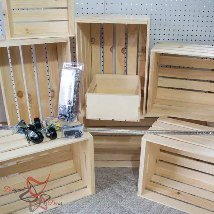 Get Organized-Ryobi Nation-Crate Storage Locker