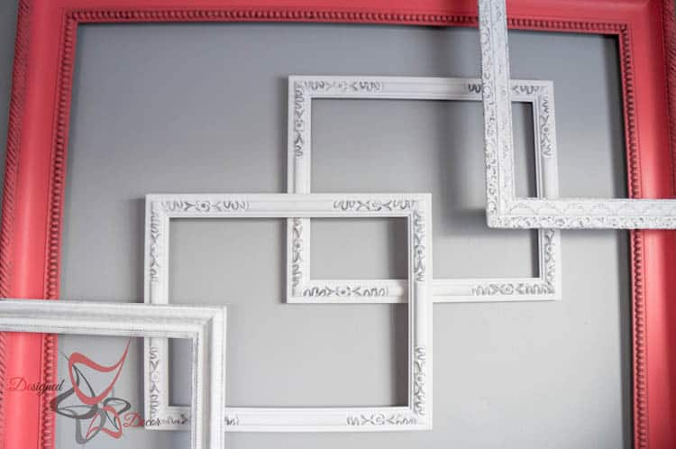 The secrets to hanging a 3-D Frame Wall Gallery-