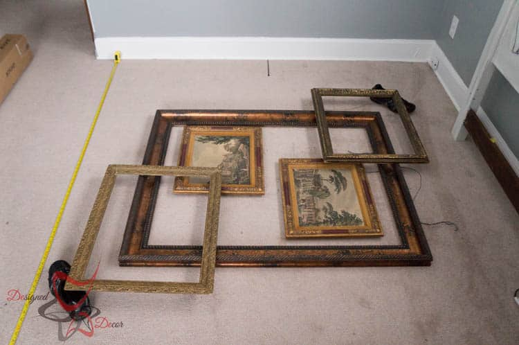 3-D Frame Wall Gallery