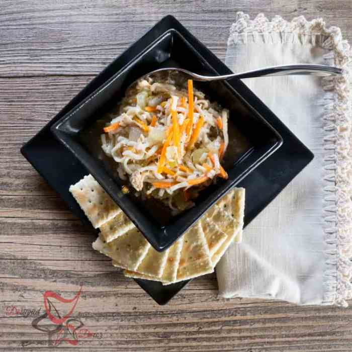 Chicken Noodle Soup-Crockpot Chicken Recipes
