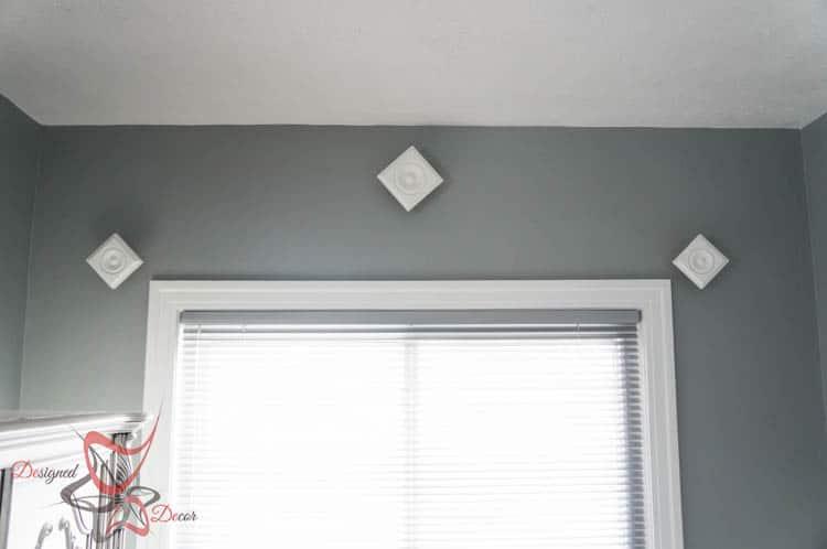 hanging handmade drapery Window Sconces