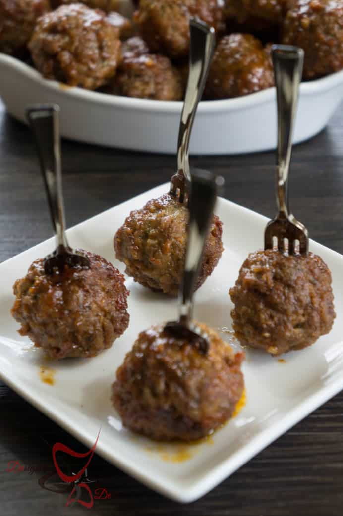 Crock Pot Meatballs- with Honey and Garlic