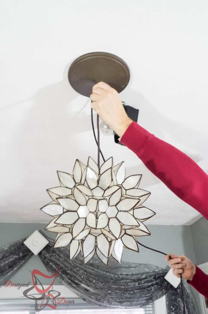 How to hard wire a light fixture- Simple steps