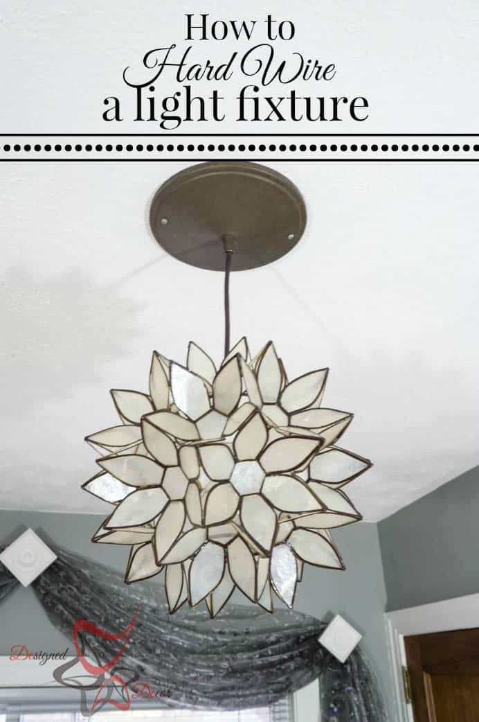 How to hard wire a light fixture-A Simple DIY Tutorial