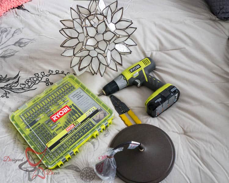 How to hard wire a light fixture- Tools needed