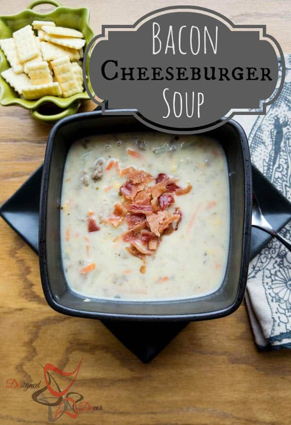 Bacon Cheeseburger Soup-