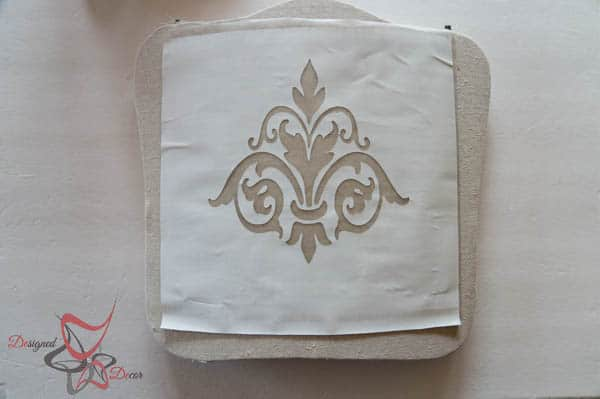 How to Stencil Fabric- Silhouette Cameo