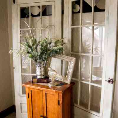 Painted French Doors with Pixie Dust!