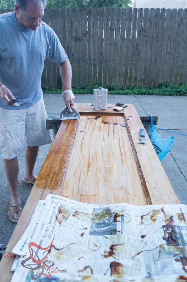 How to Refinish Wood Doors-3