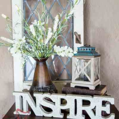 How to Style a Vignette using ScentSationals Edison Warmer!