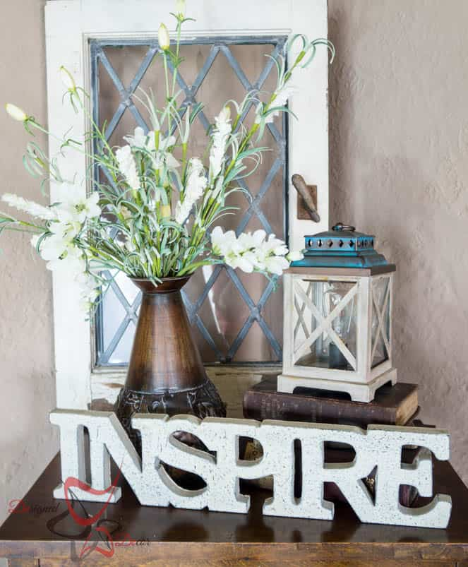 How to Style a Vignette- ScentSationals-Edison Warmer-#WicklessWonders -#CollectiveBias- #ad-5