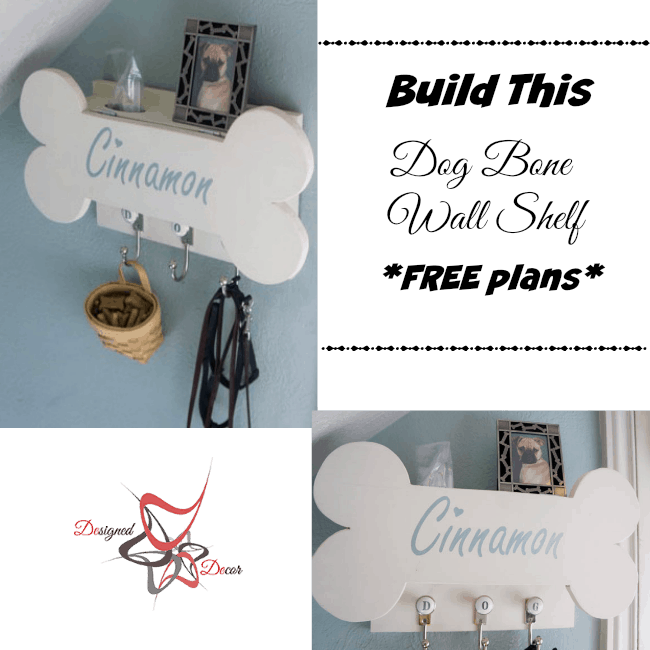 Dog Bone Wall Shelf - RyobiNation - Dog Days of Summer-Giveaway