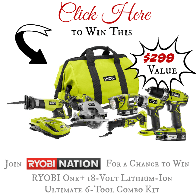Ryobi Dog Days of Summer Giveaway