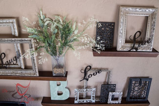 How To Decorate A Large Wall! ~- Designed Decor