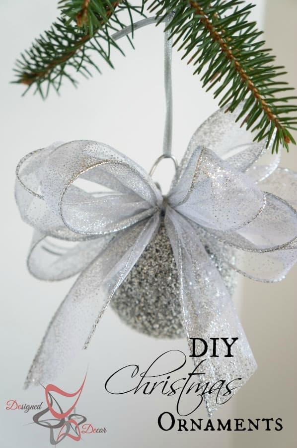 DIY- Styrofoam- Bulb -Glitter- Christmas-Ornament-pinnable-