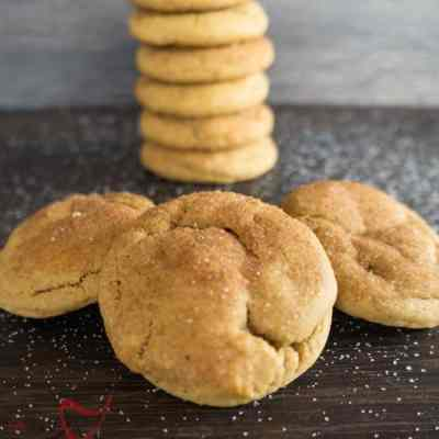 Pumpkin Snickerdoodle Cookies!