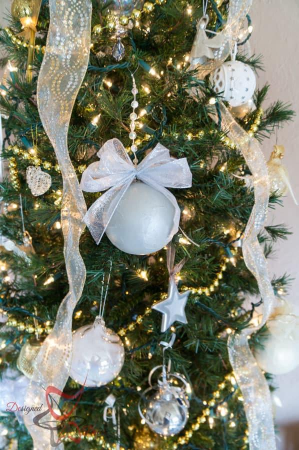 Decorating Tree Ribbon