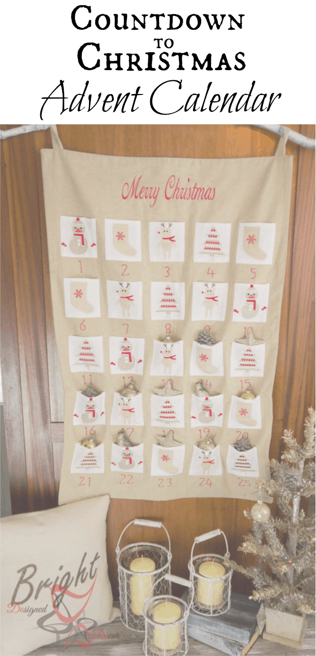 Countdown to Christmas-Advent-Calendar