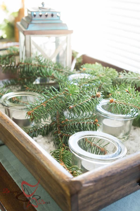 DIY- Christmas Decorating on a Budget- Home Tour 2015l (30 of 65)