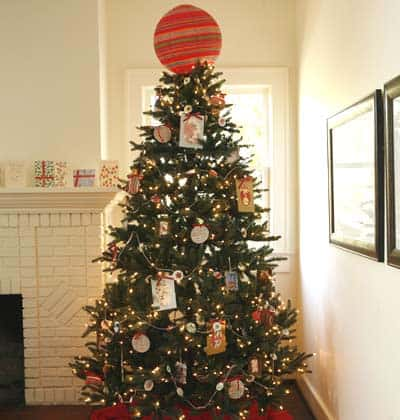 Paper Christmas Tree by Homeideas