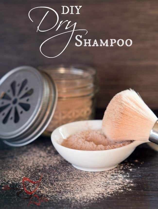DIY Dry Shampoo-pinnable