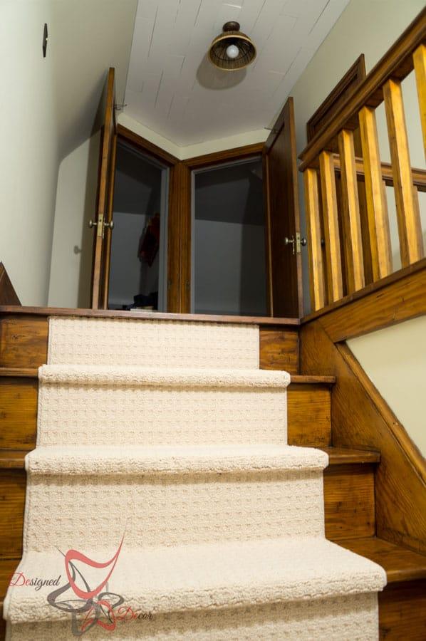 DIY Pendant Light   DIY Custom Stairway Runners (14 Of 15)
