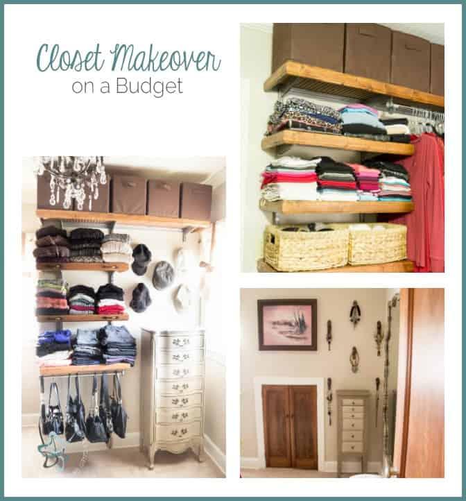 Closet Makeover on a Budget