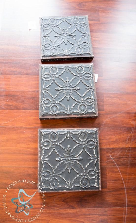 DIY-Knockoff-3 Panel-Tile-Wall-Decor-Wood-Frame (1 of 11)