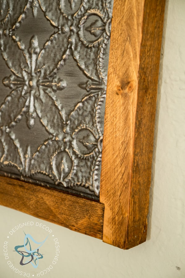 DIY-Knockoff-3 Panel-Tile-Wall-Decor-Wood-Frame (10 of 11)