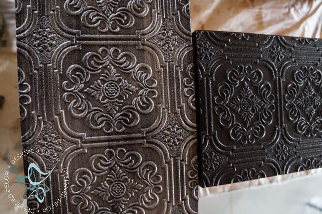 Textured-WallPaper-Dresser- GeneralFinishes- #Sponsor-Painted Furniture (11 of 20)