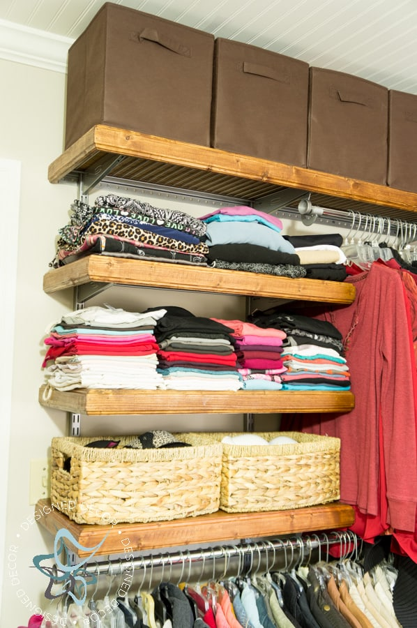 Closet Makeover On A Budget 19 Of 39