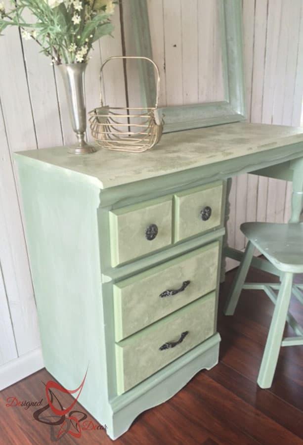 La Chaux-French Lime Paint-Printemps-Desk Makeover-3