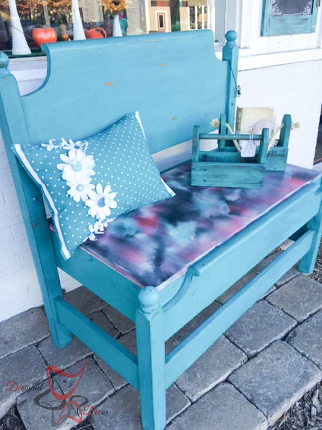 Repurposed-Headboard-Bench-Unicorn Spit- Maison Blanche (8 of 9)