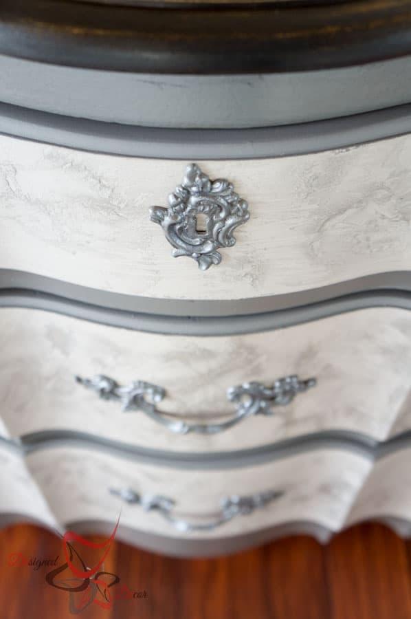 French Provncial Buffet- Lime Paint - Le Chaux- Maison Blanche Paint-6