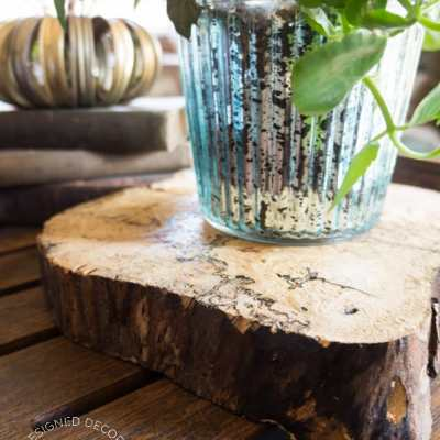 DIY Wood Slices!